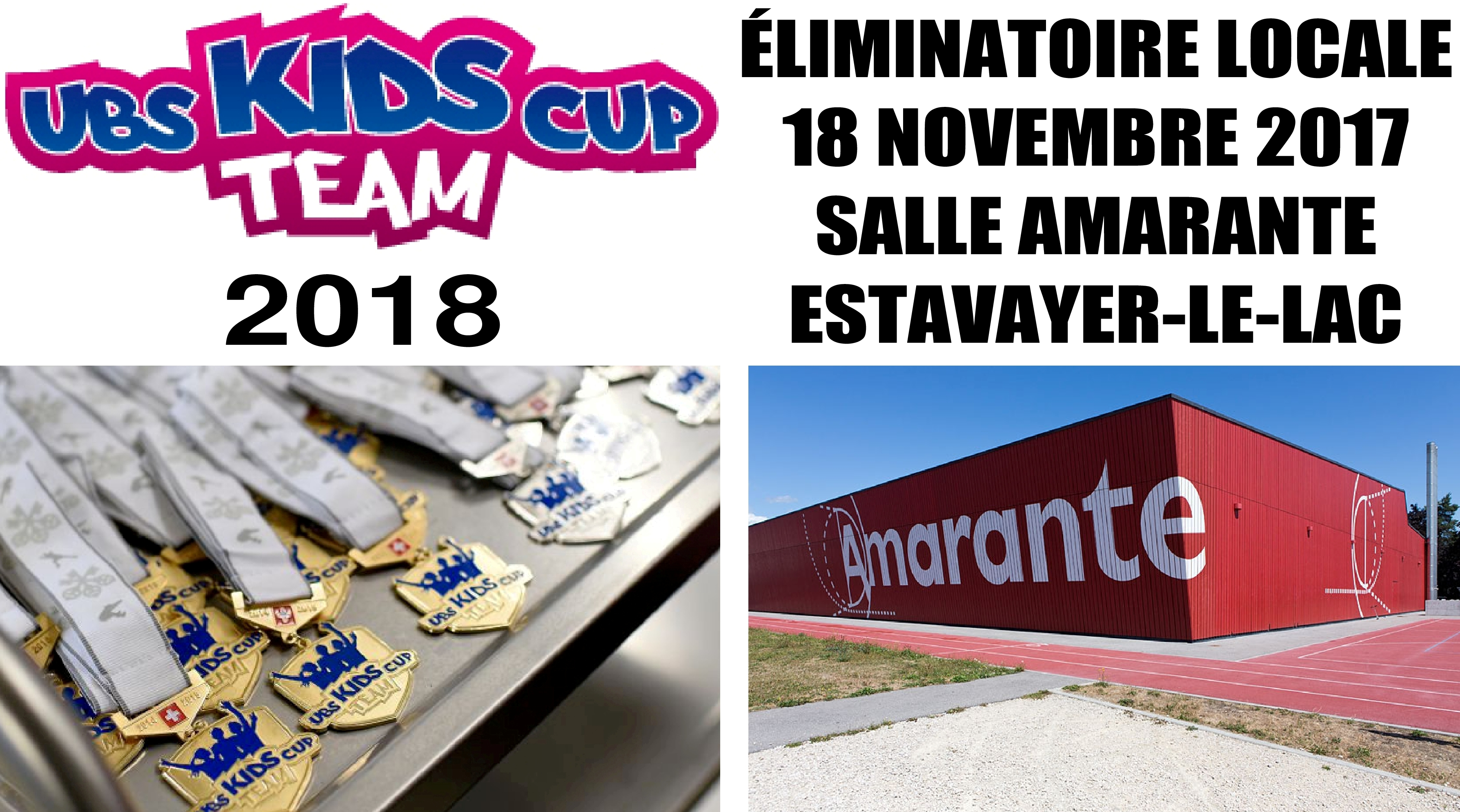 Eliminatoire UBS Kids Cup Team à Estavayer
