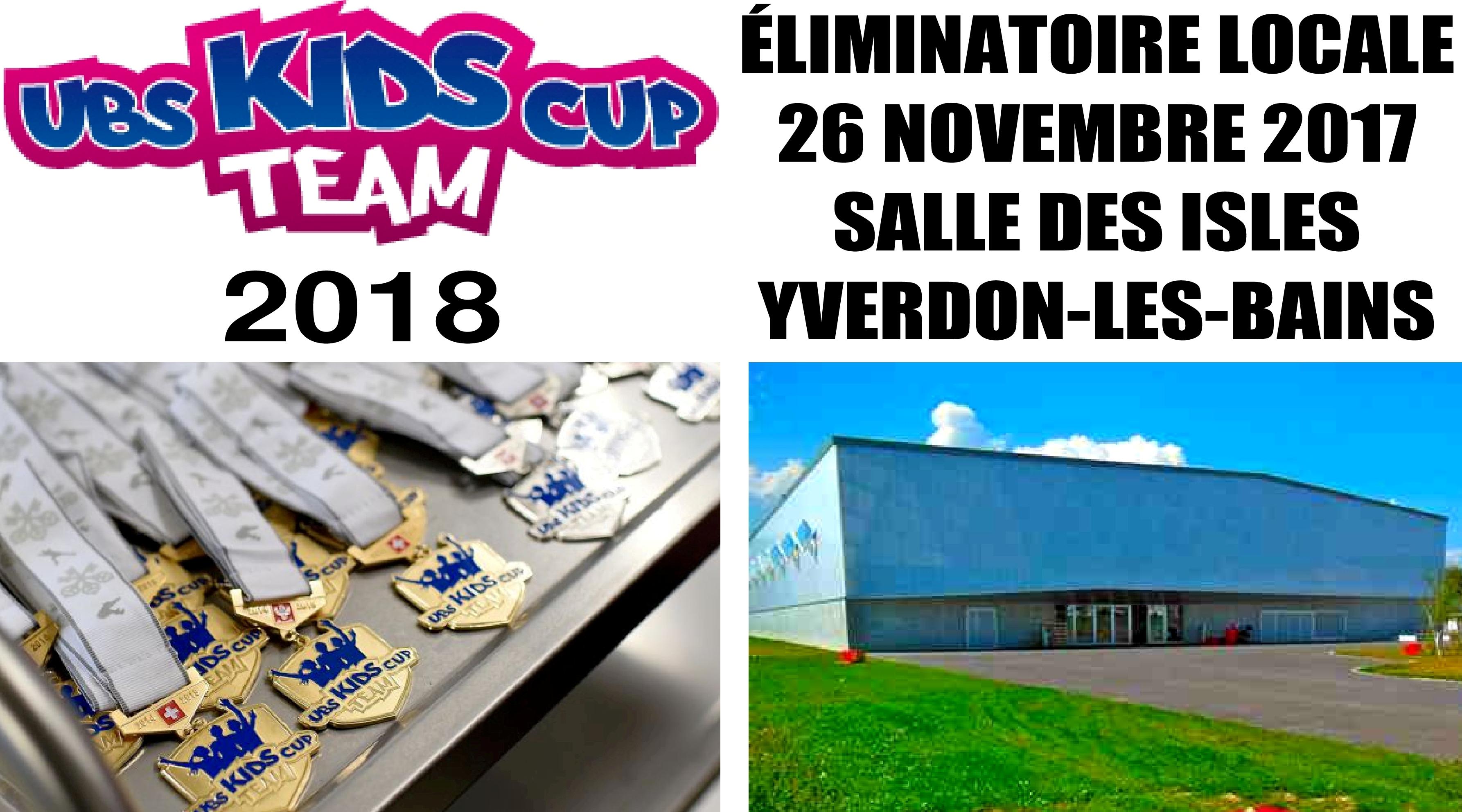 Eliminatoire UBS Kids Cup Team à Yverdon