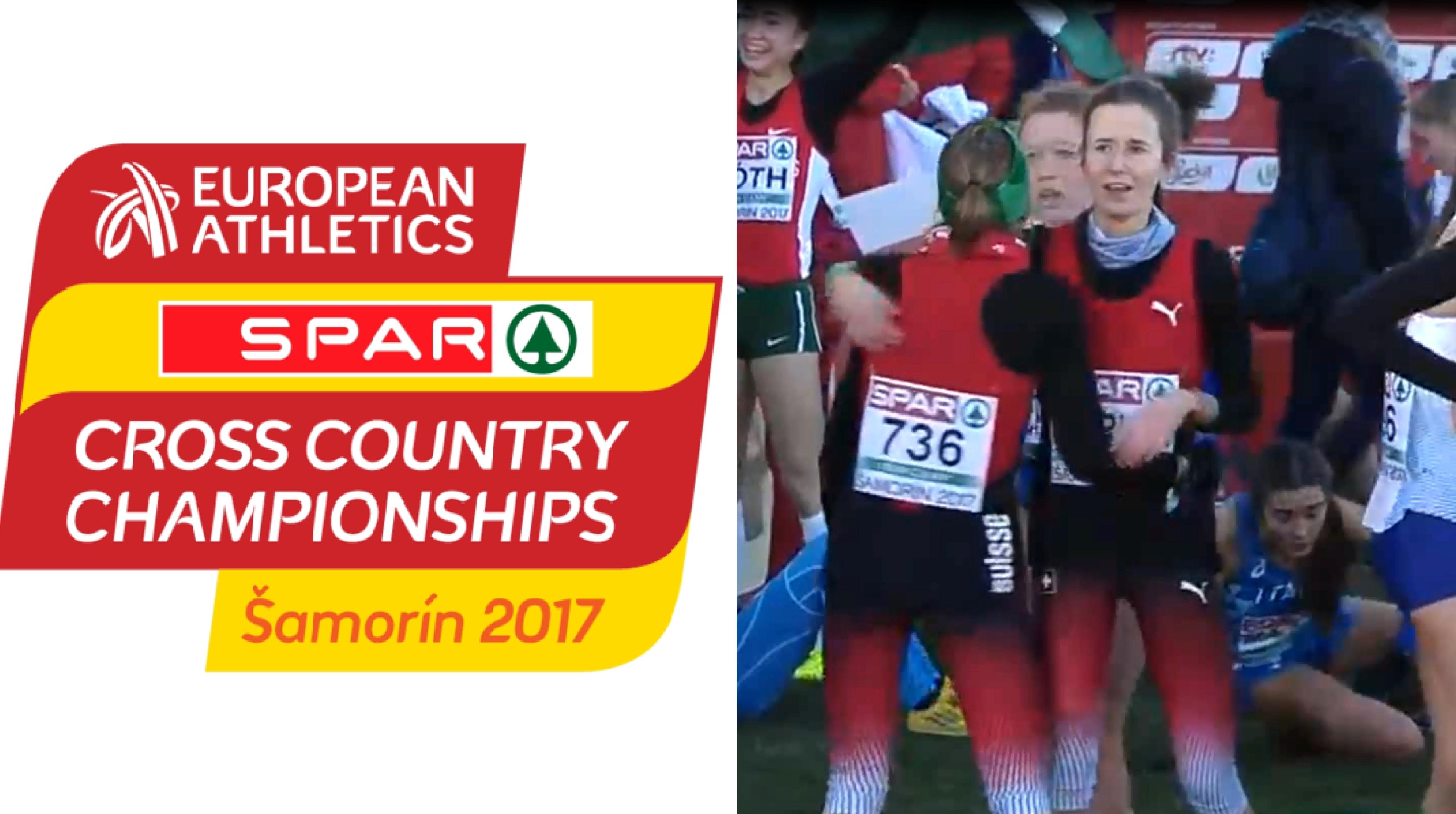 Champ. d'Europe de cross à Samorin