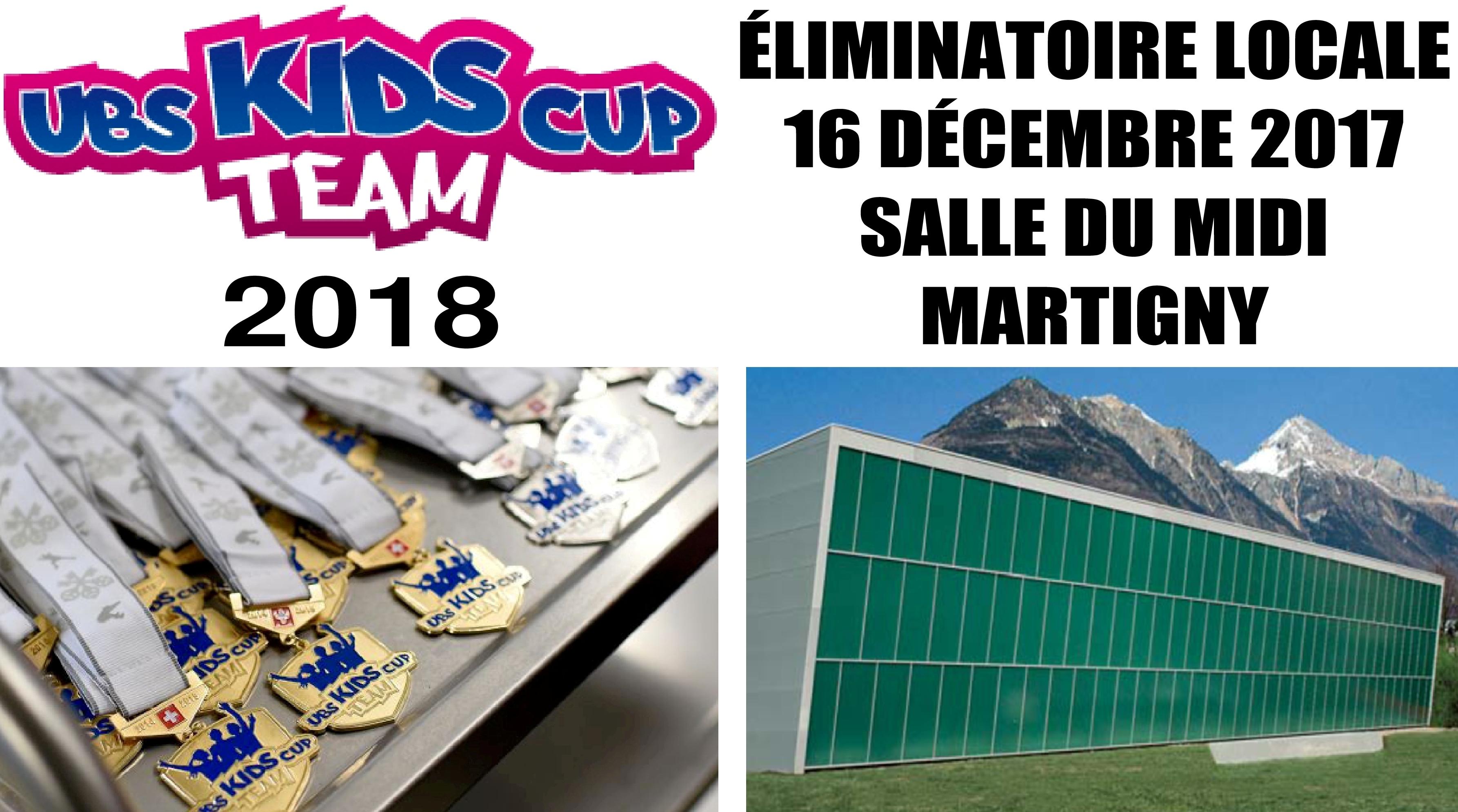 Eliminatoire UBS Kids Cup Team à Martigny