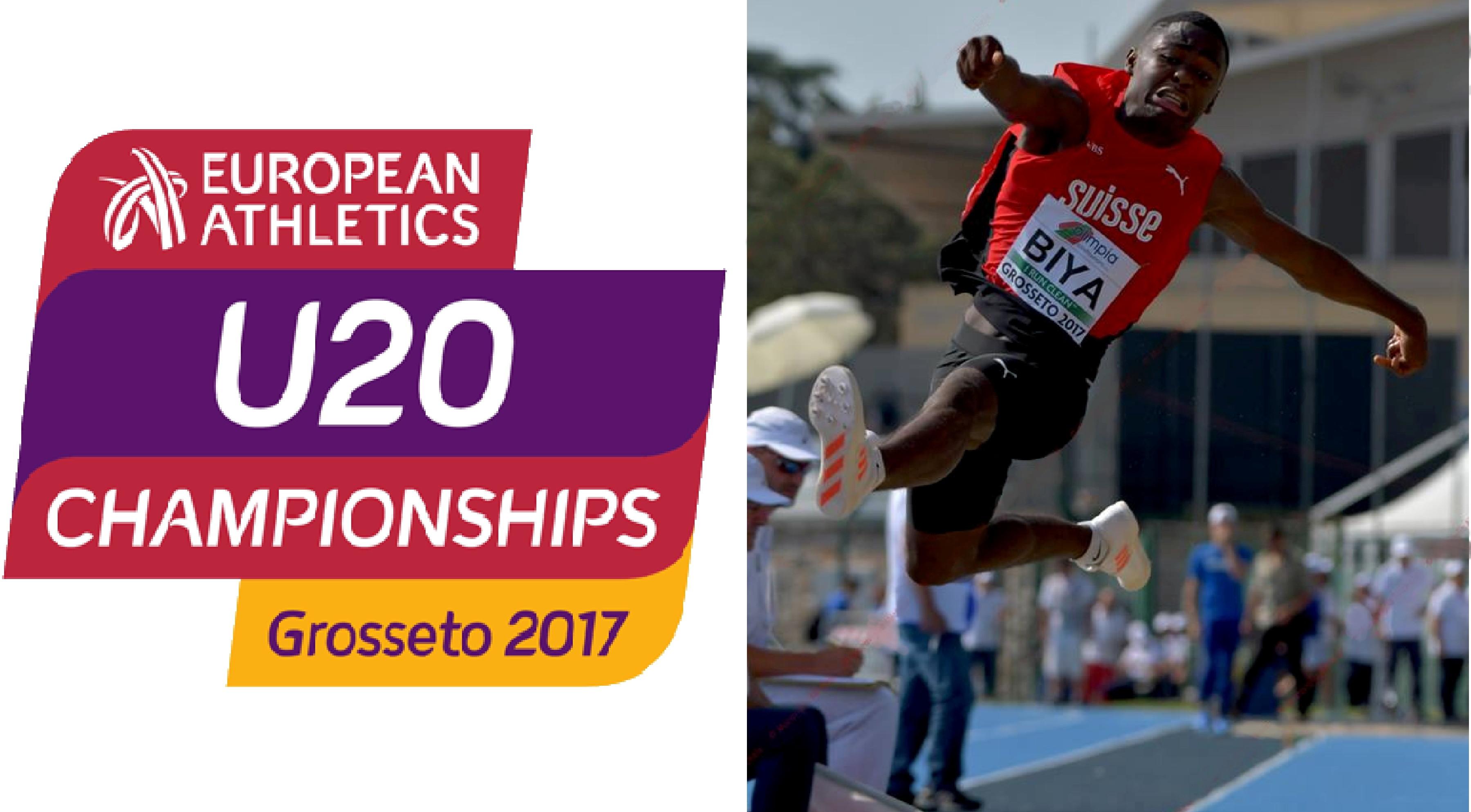 Championnats d'Europe U20 à Grosseto