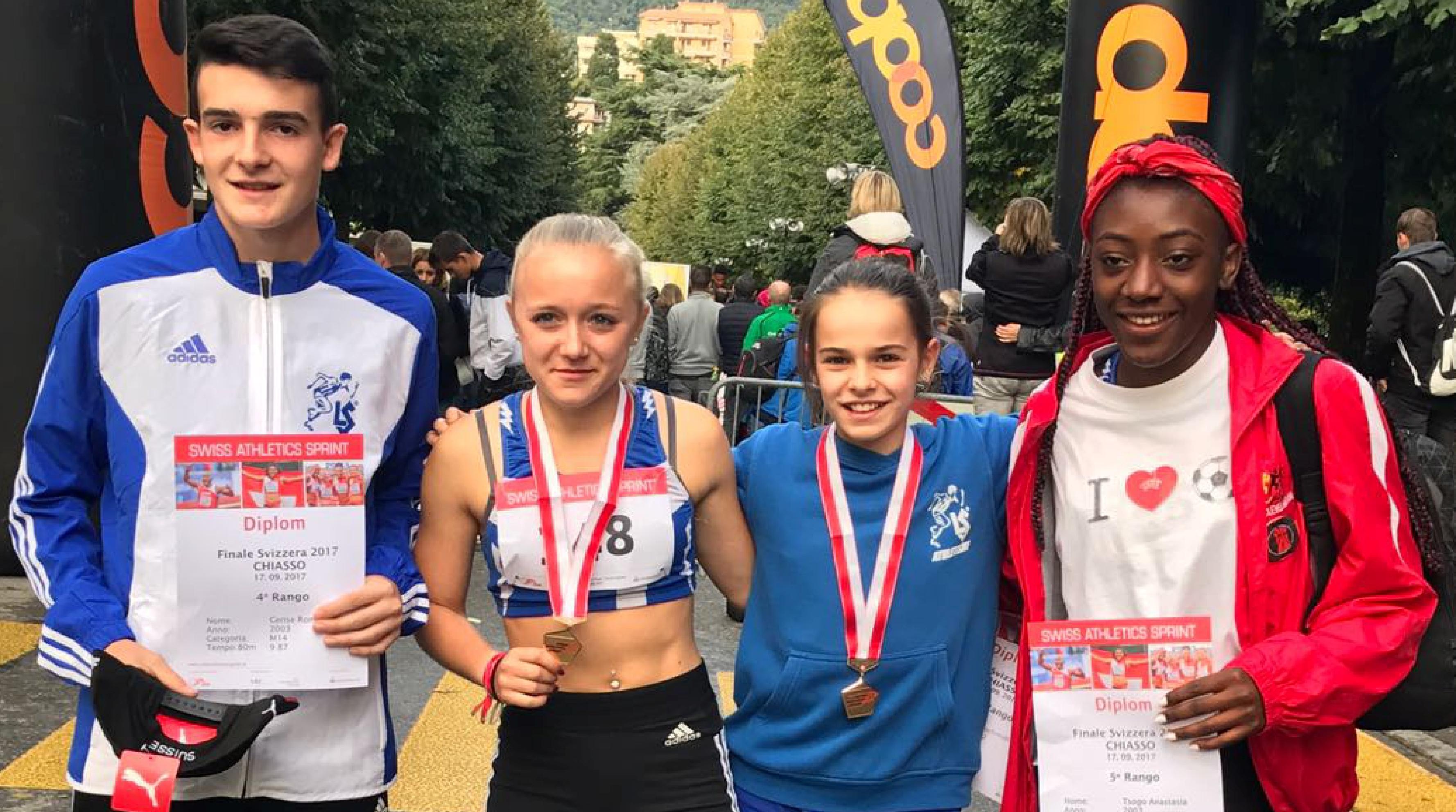 Swiss Athletics Sprint à Chiasso