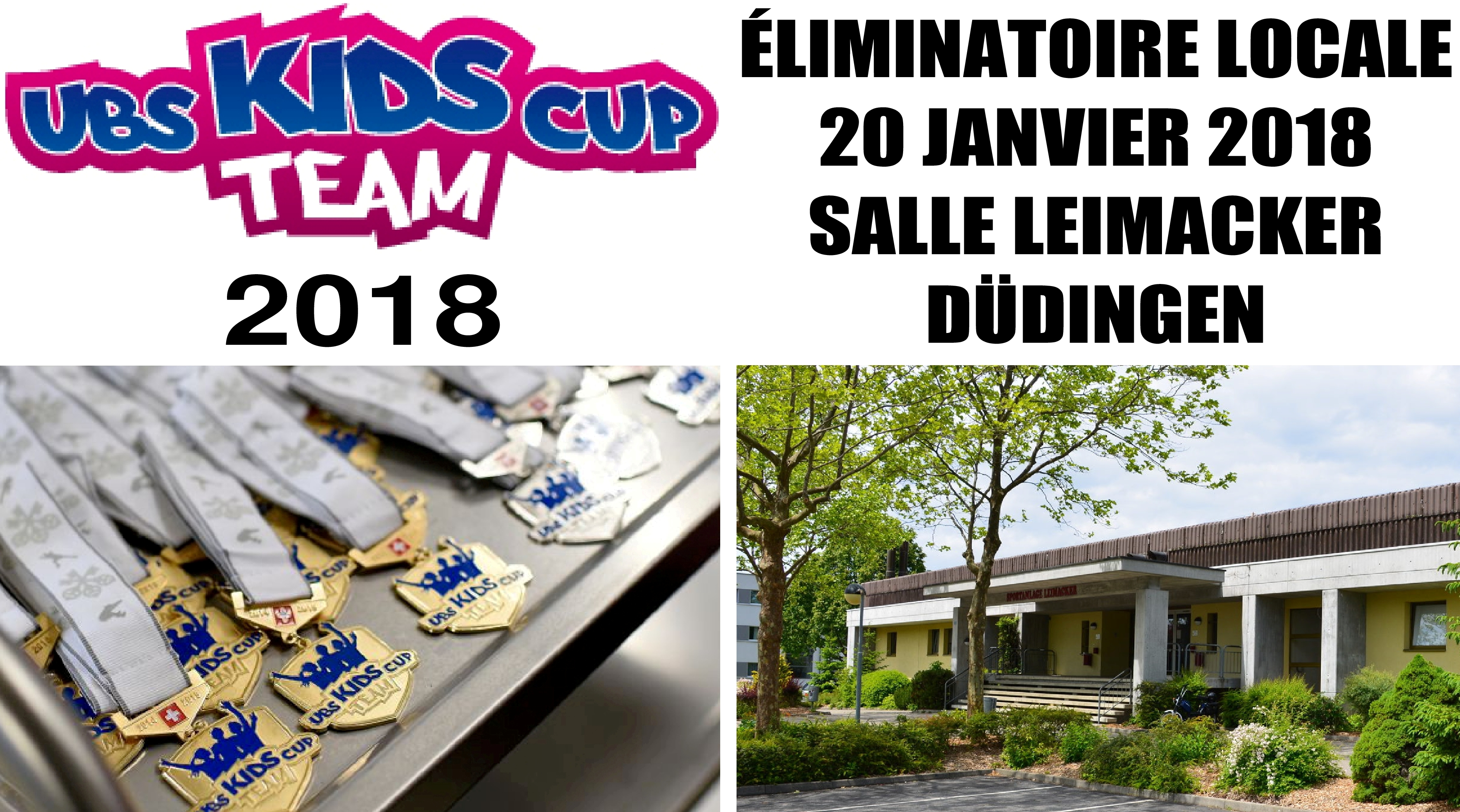 Eliminatoire UBS Kids Cup Team à Düdingen