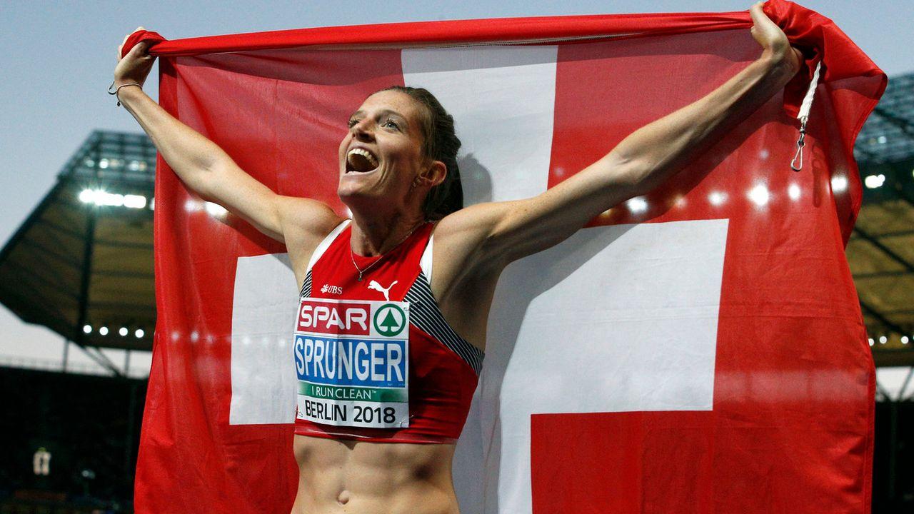 Championnats d'Europe à Berlin