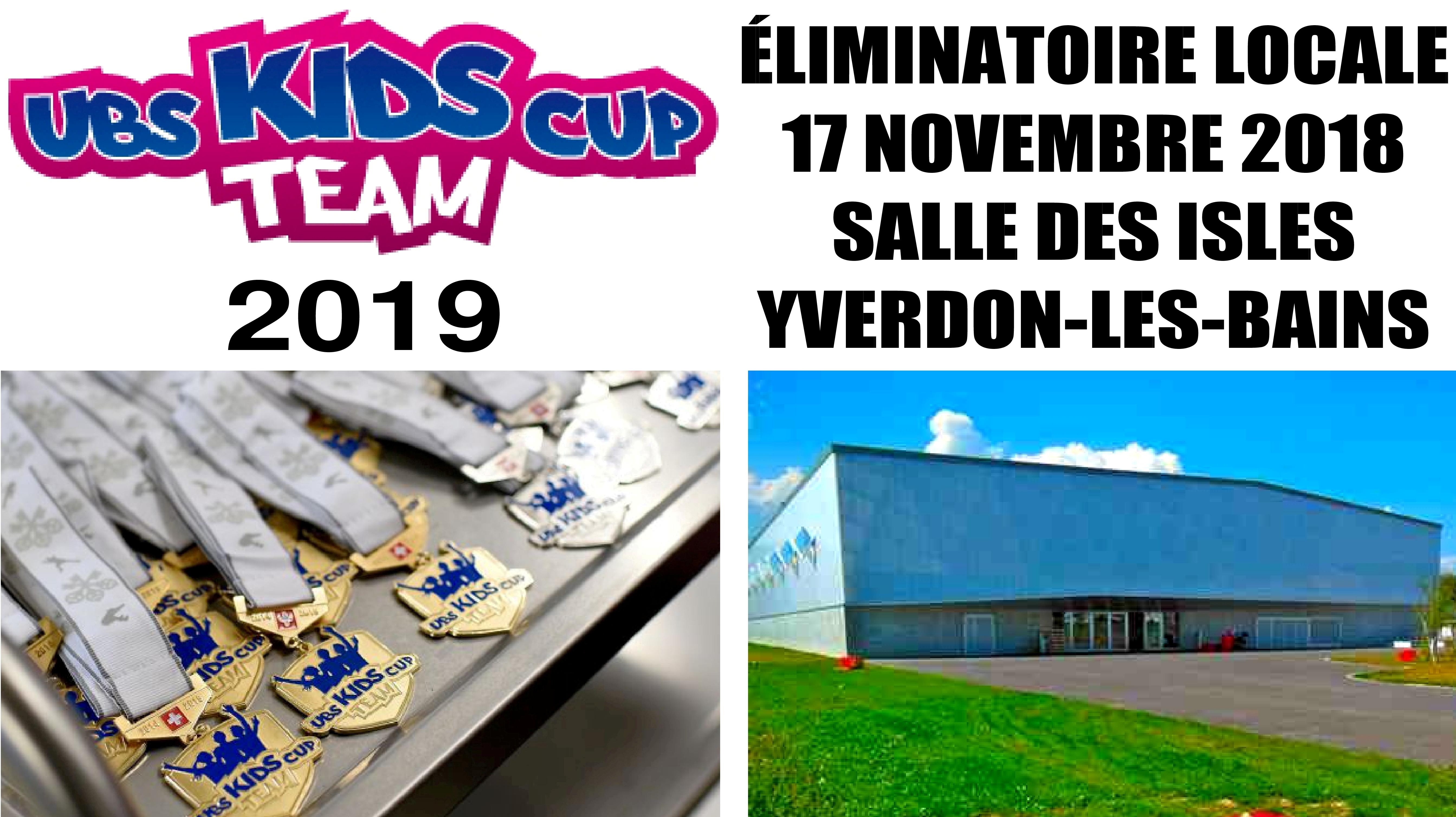 Eliminatoire UBS Kids Cup Team à Yvedon