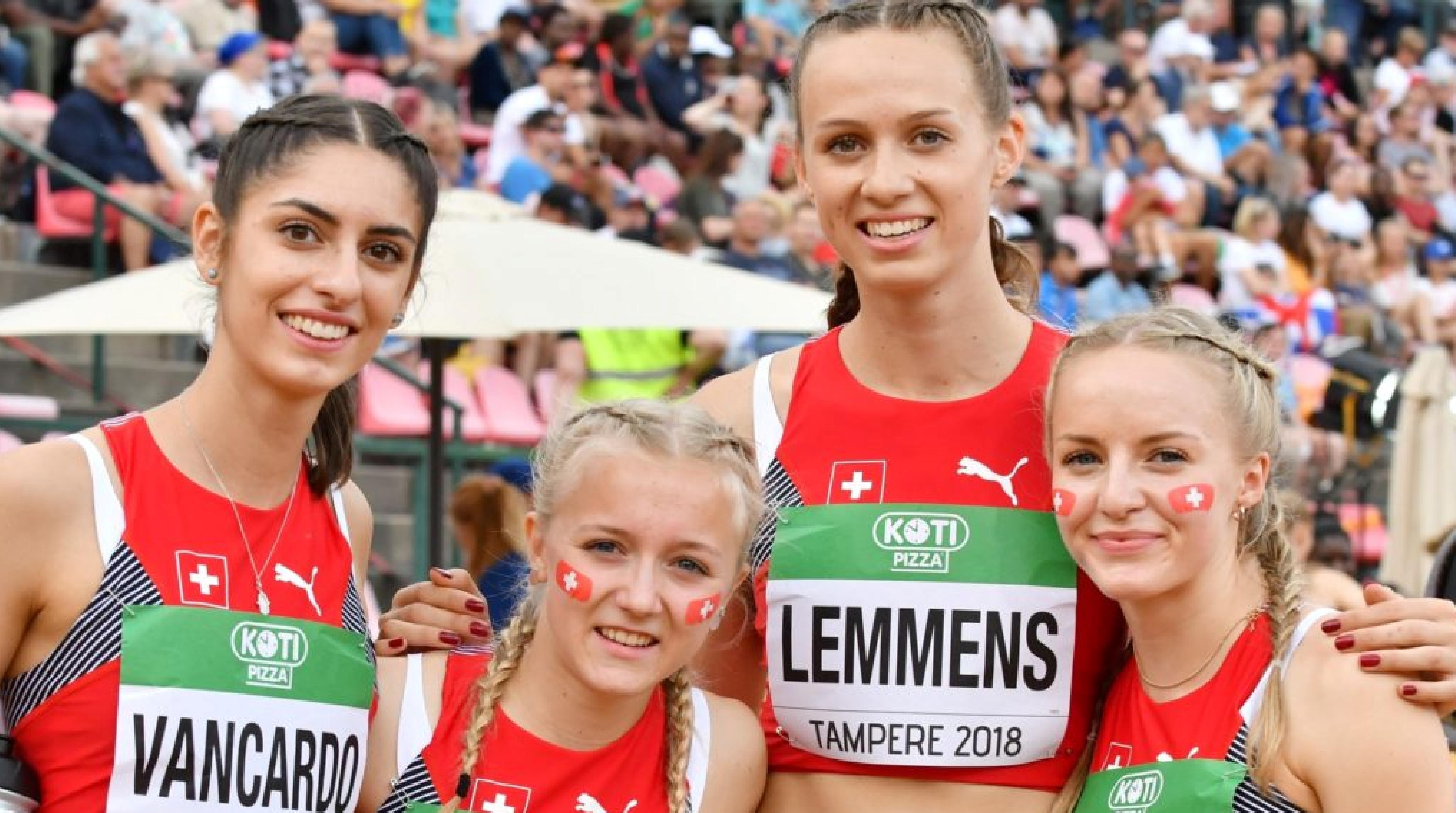 Championnats du monde U20 à Tampere