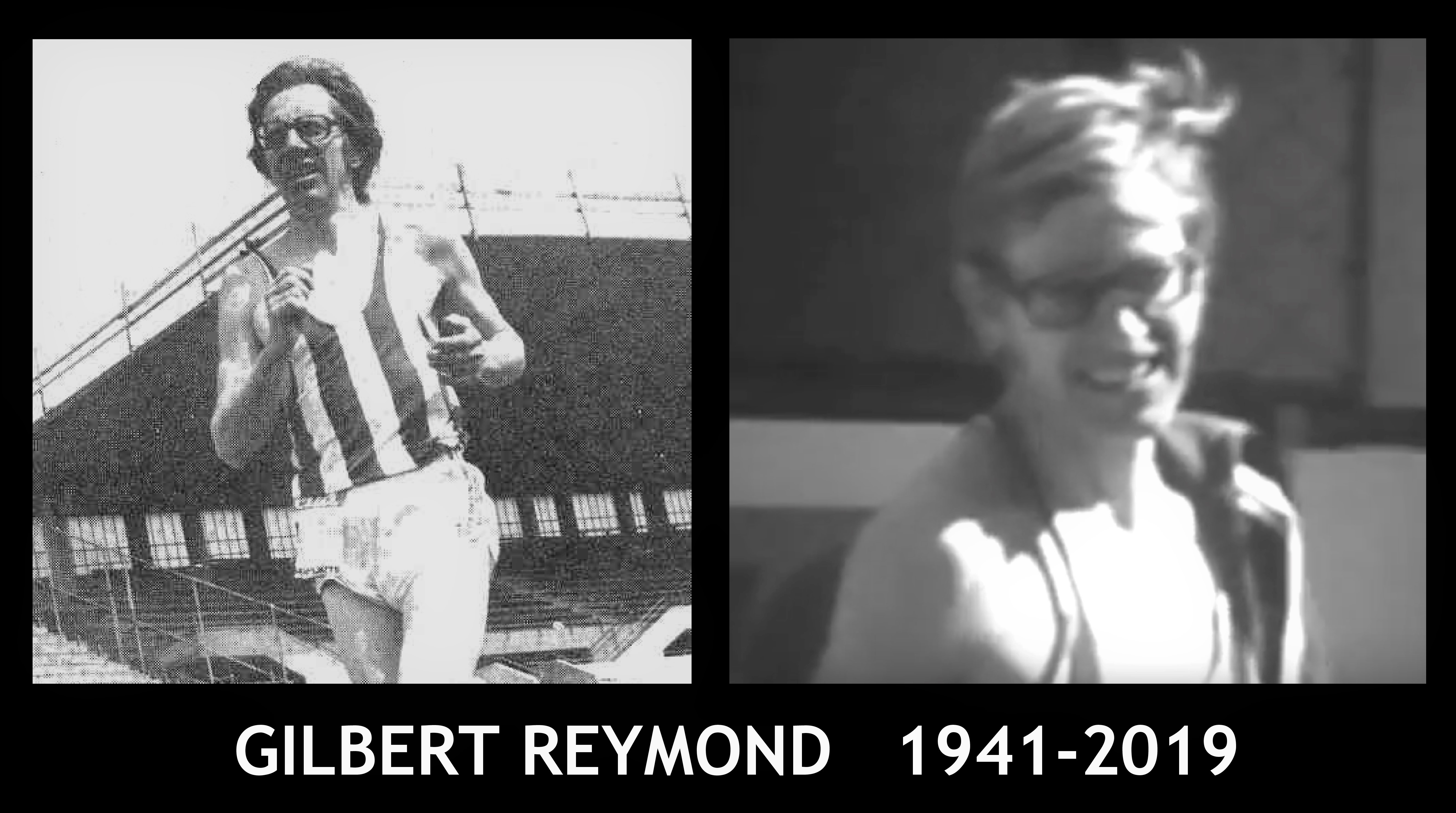 Carnet noir : Gilbert Reymond 1941-2019