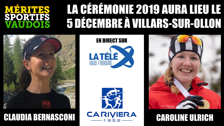 Mérites sportifs vaudois 2019