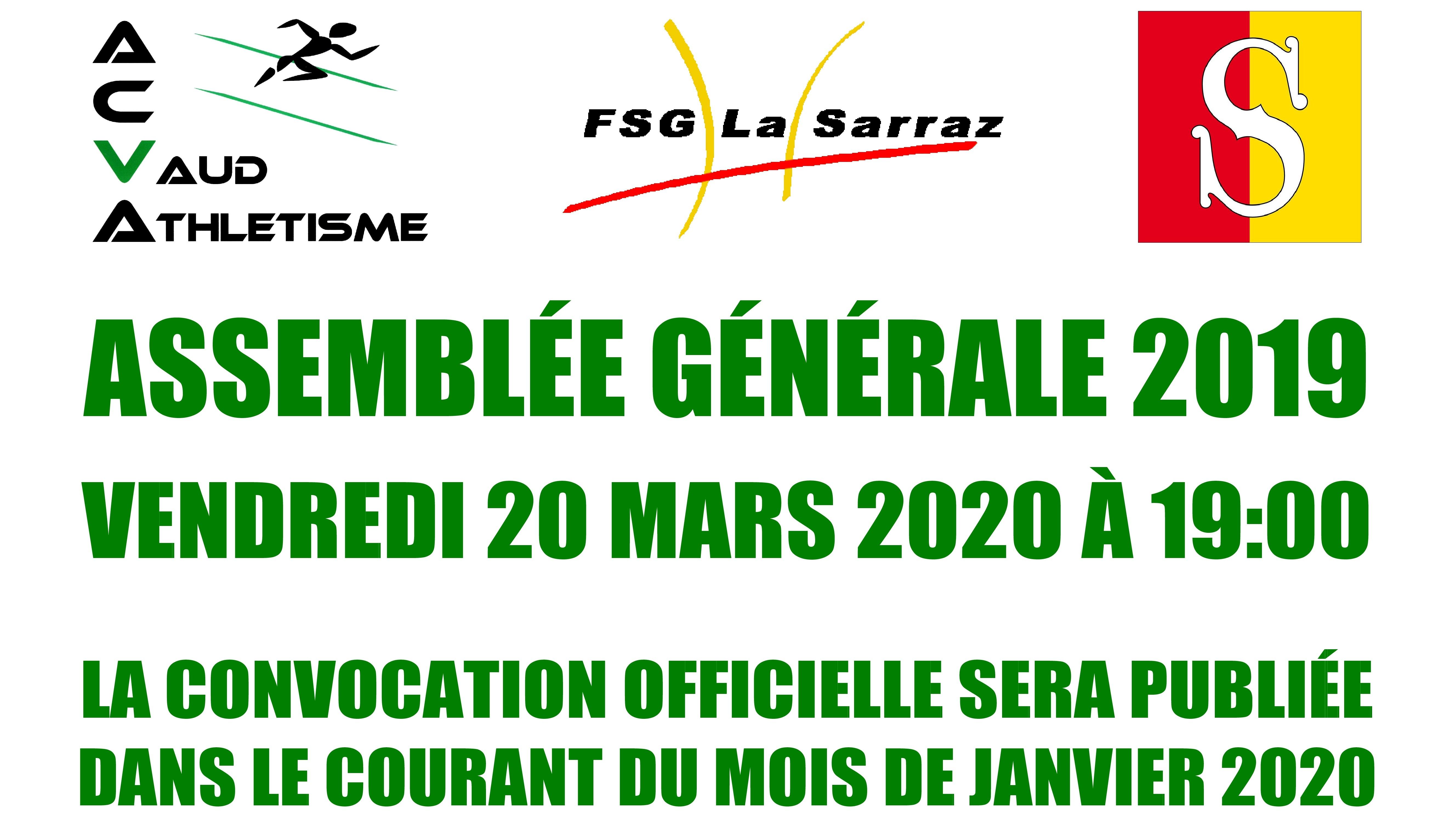 La prochaine AG aura lieu à La Sarraz