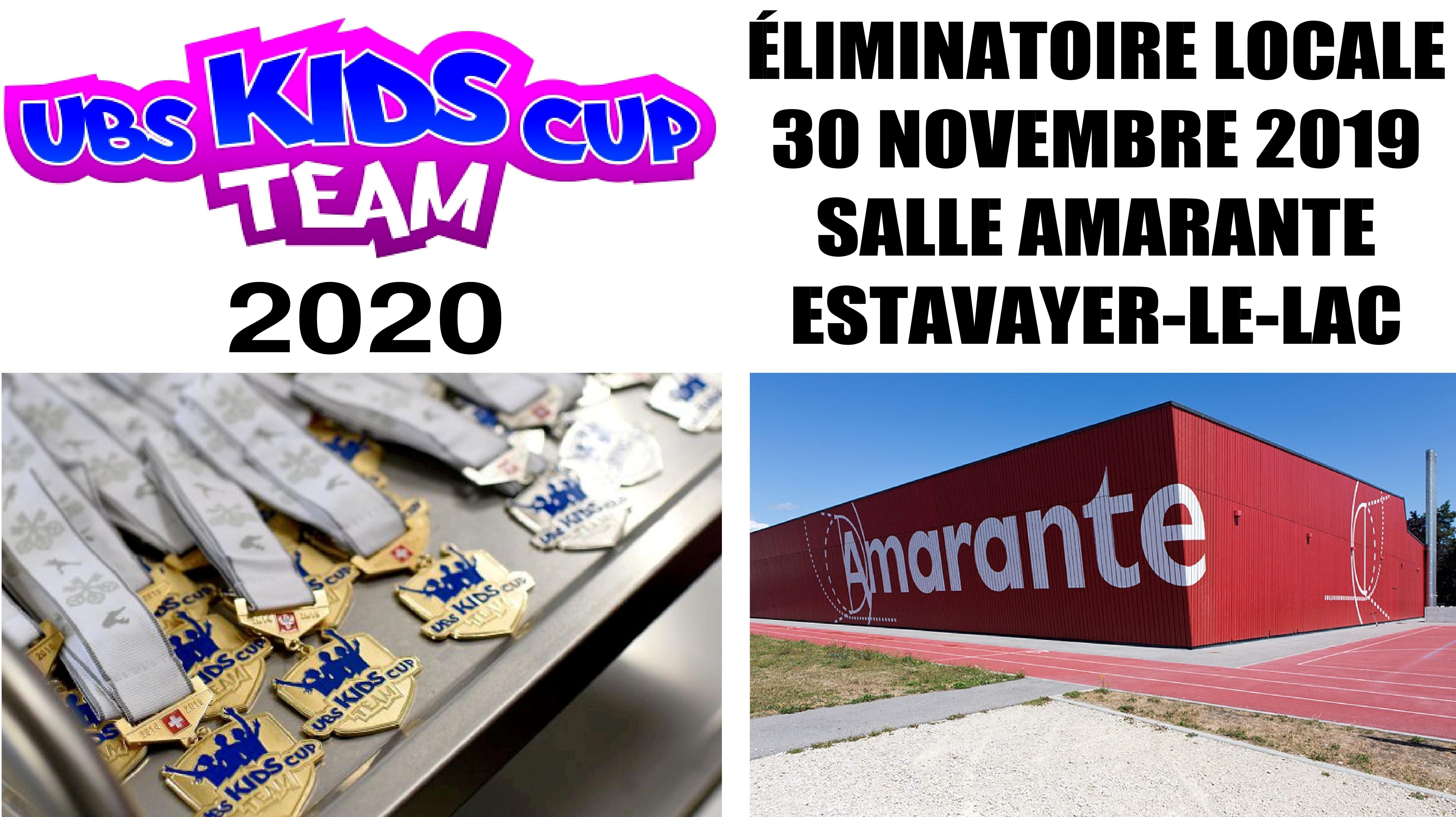 Éliminatoire UBS Kids Cup Team à Estavayer
