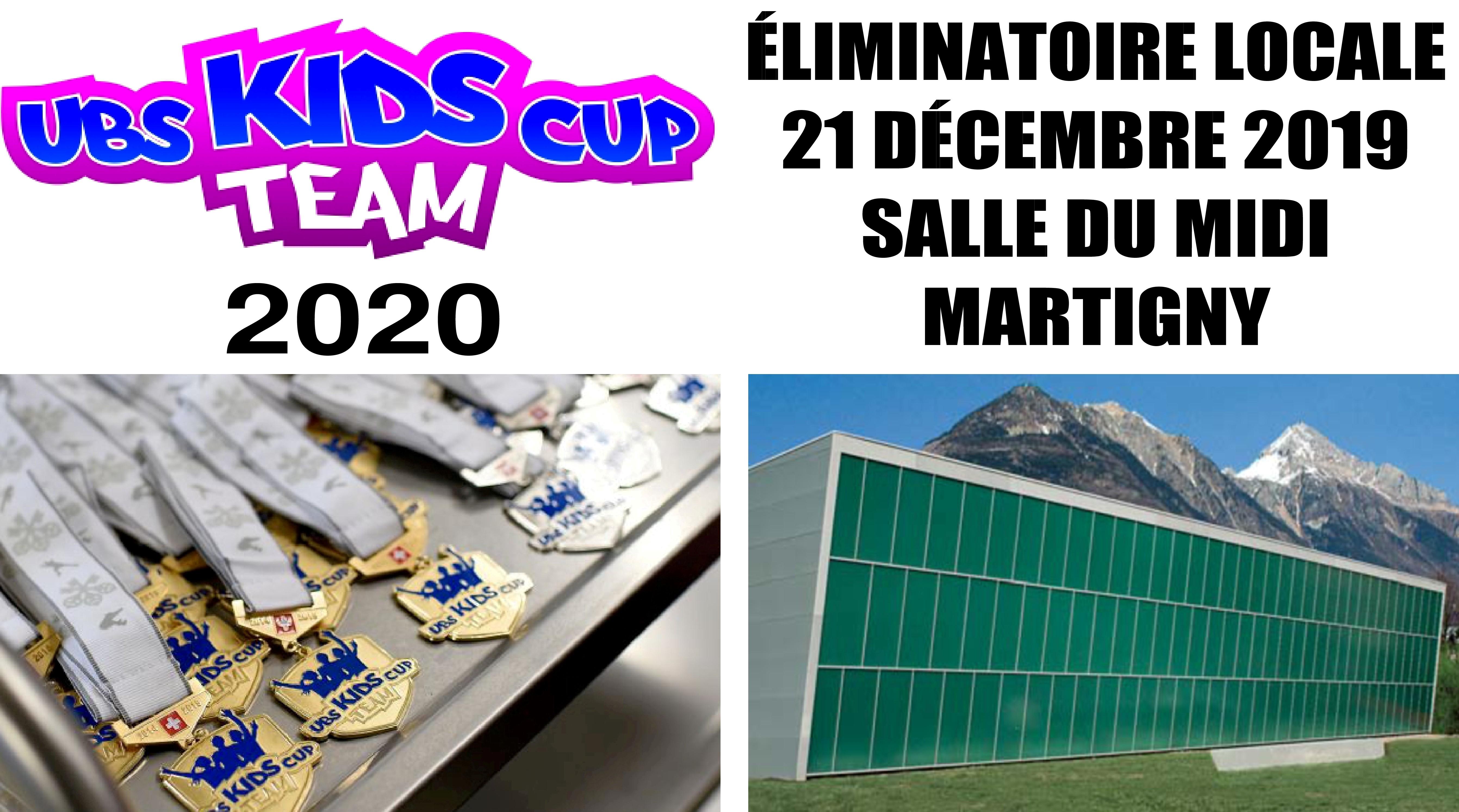Éliminatoire UBS Kids Cup Team à Martigny