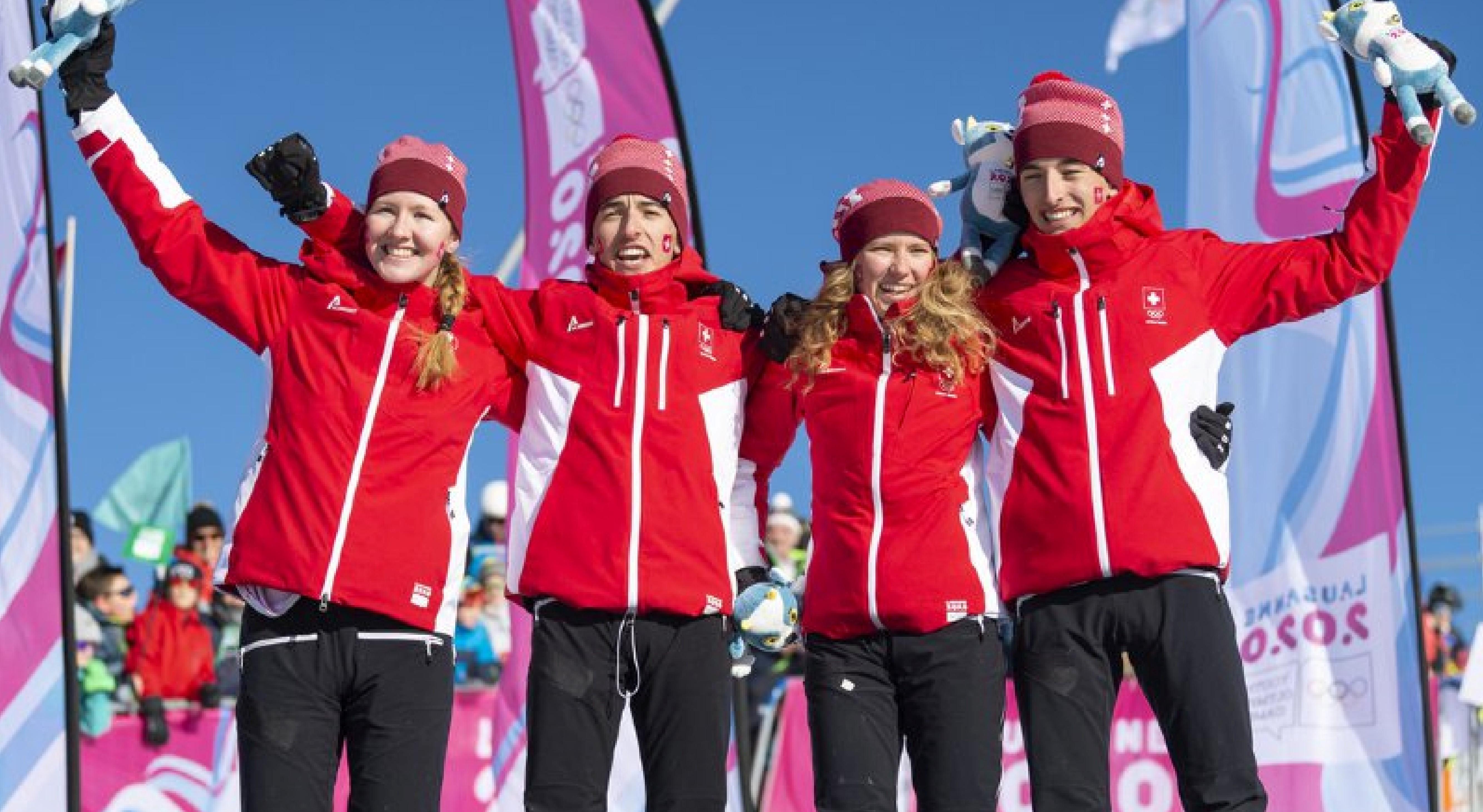 JOJ 2020 : Ski-alpinisme à Villars