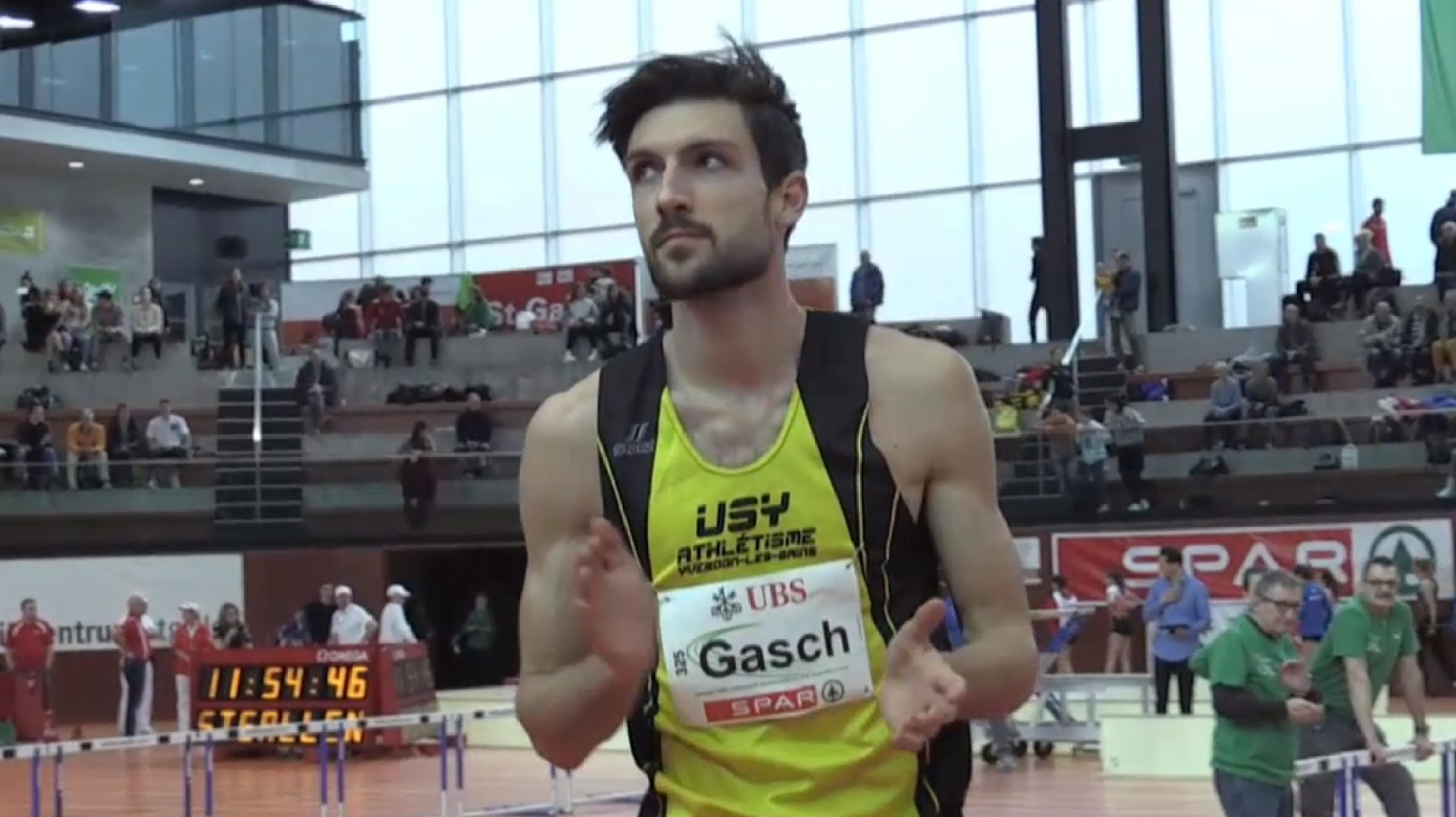 Championnats suisses en salle à St-Gall