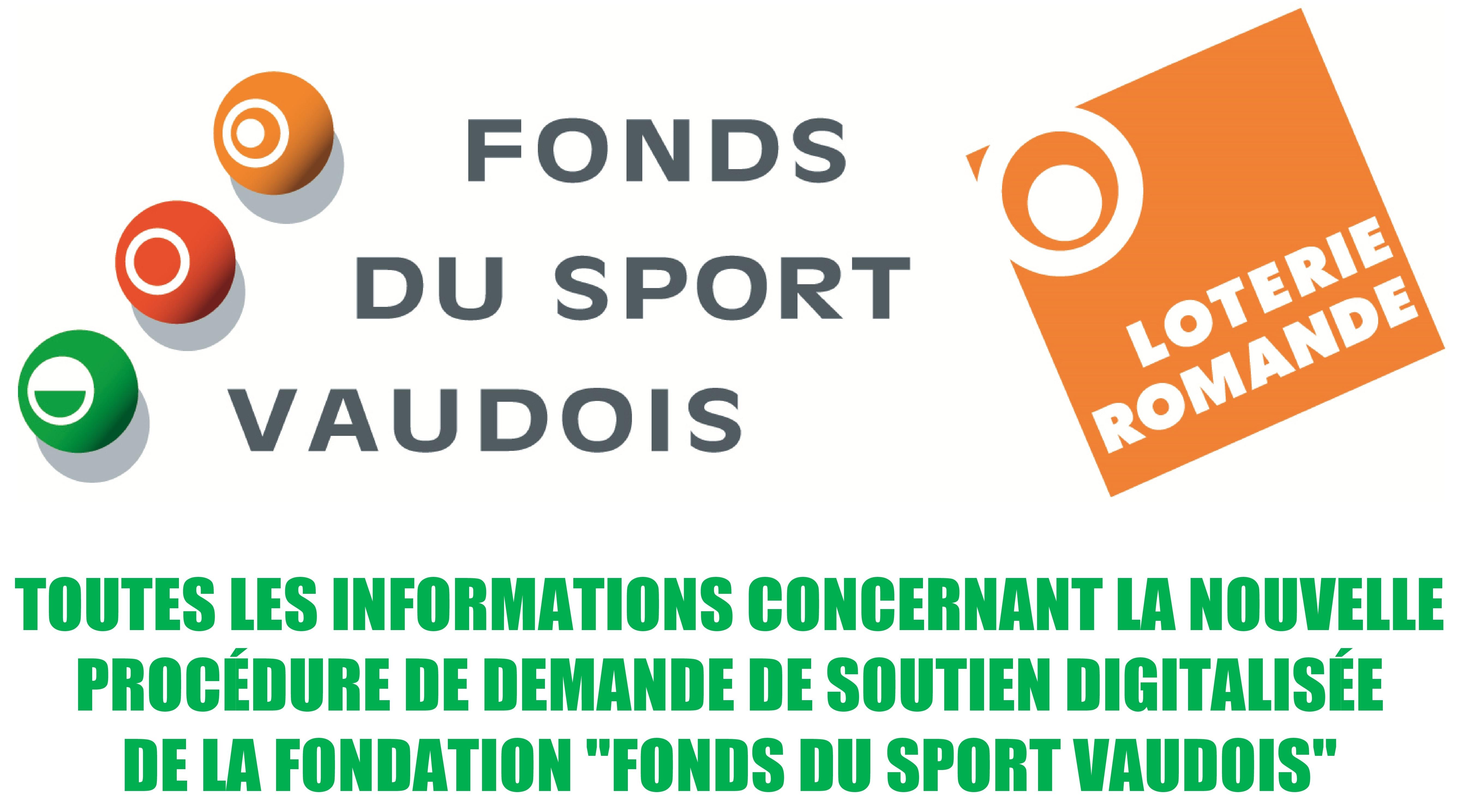 Informations du Fonds du sport vaudois