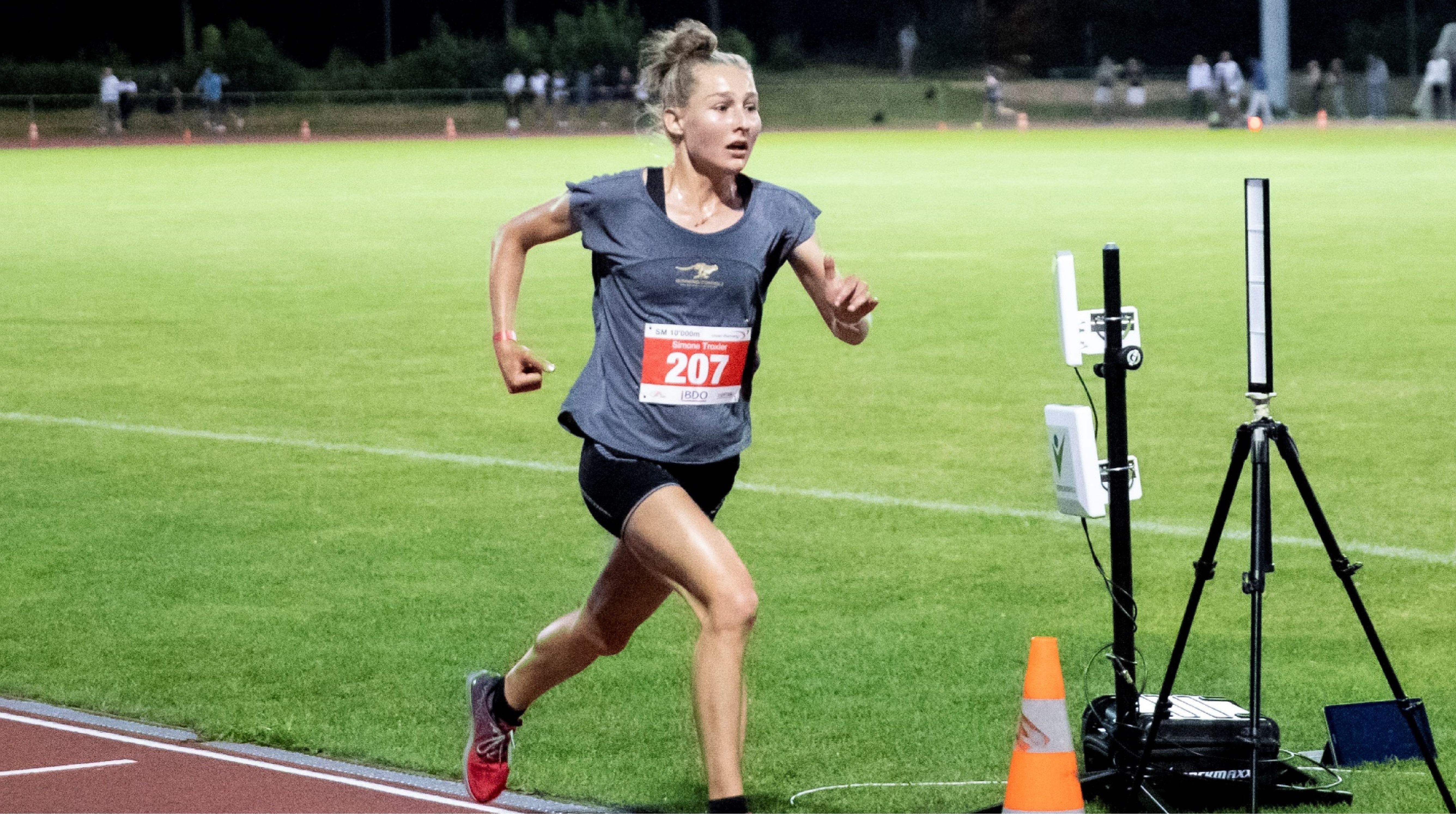 Champ. suisses de 10000 m à Uster