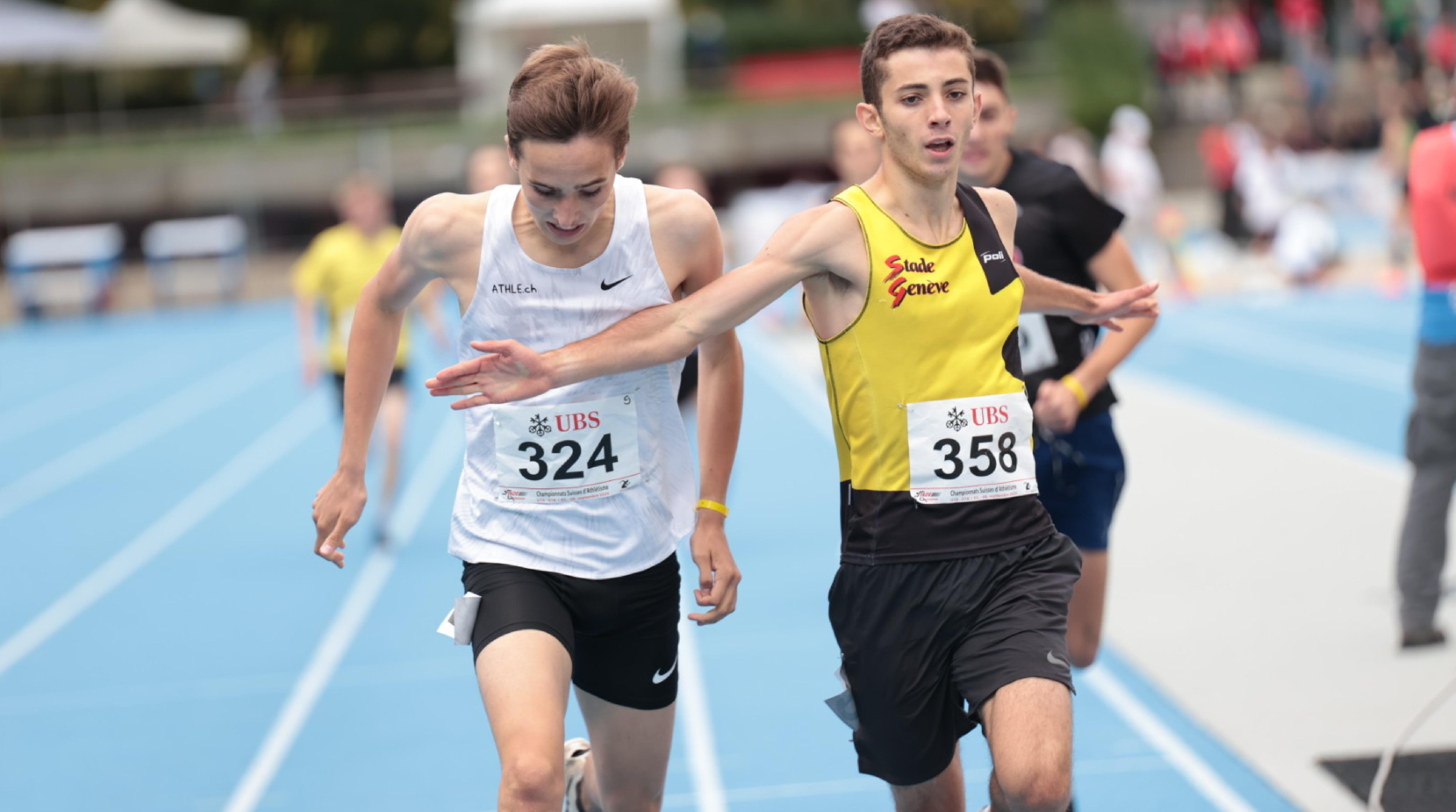 Championnats suisses U18-U16 à Lausanne